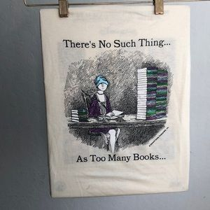 Book Lovers Graphic Cotton T-Shirt